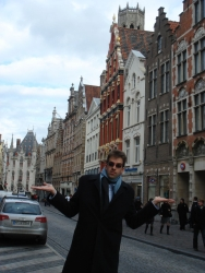 Ognen returns to Bruges exactly 10 years after he swore he'd retire there someday