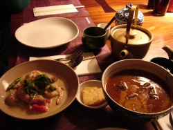 after more than a year a decent Thai meal at last - an instant Easter tradition is born