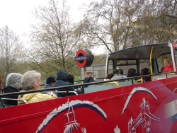 touring London options - could pay a bunch for one of these organized tour double-deckers