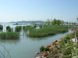 Balatonfured - the 60km mark where we dropped of from the main group...