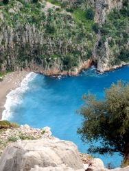 lookout over butterfly valley near Fethiye
