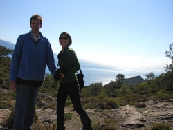 we set off for a little hike on the Lycian trail above Kaya Koy
