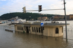 and eventually the Danube flooded