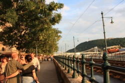 so summer life happily goes on in Budapest