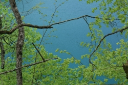 the colors of the Plitvice lakes