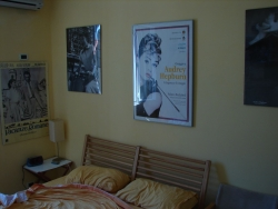 the Audrey room at our friend Claudio's B-n-B Tasso in Rome