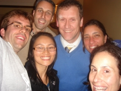 self-picture with the Berkeley engineering crew