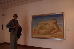 and the Botero Museum (full of works by an artist with a chubby predisposition)