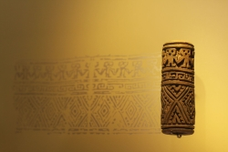 Museo del Oro exhibit 9 (printing roll)