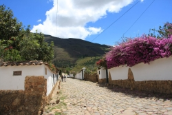 Villa de Leyva is a small village with old colonial streets