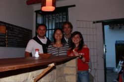 our weekend in Villa de Leyva was spent with our new friends Felipe and Sandra who we randomly met on a bus
