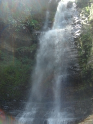 another look at the face of the waterfall we descended