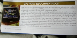 our in-flight magazine entertainment - worth a read if you speak spanish