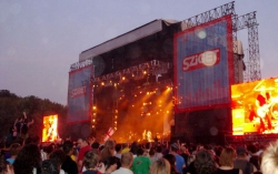 last nights in BP - the Sziget Festival