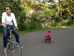 170 - And daddy loved riding his old bike.jpg