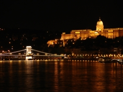 Danube view by night