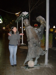 Iris decidedly confused by the awesomeness of this statute