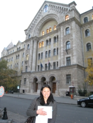 Budapest courthouse - home of the last crazy elevator
