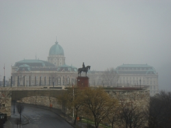 Palace in the mist