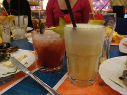 and the shockingly good drinks at the bowling alley