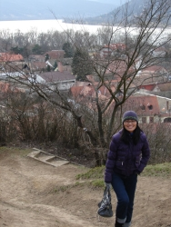 taking a daytrip to Visegrad to see the Danube Bend