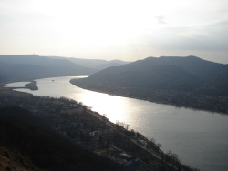 mission accomplished - behold the Danube Bend
