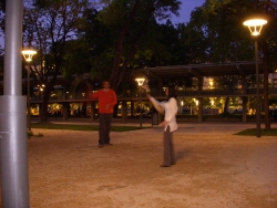 and now it's time for some tai chi ball... still don't know what it is?