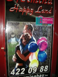 """Jeremy sez: """"If """"Happy Land"""" is really a place where you sadly hug balloon-holding women in the rain while a myst"""