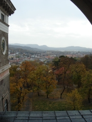 views from atop Esztegrom's cathedral 1