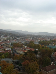 views from atop Esztegrom's cathedral 2
