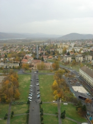 views from atop Esztegrom's cathedral 4