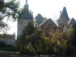 scenes from Budapest's city park