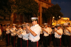 and, of course, one of the three marching bands