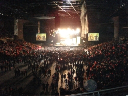 yup, they rented out an entire arena