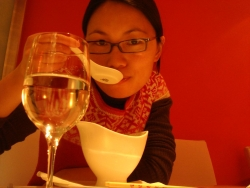 at our first Michelin star restaurant