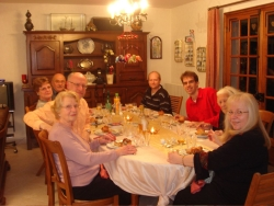 Madame Odette's family - we were honored and touched by the X-mas eve reception we received