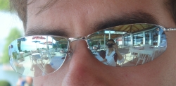 hello Lake Ohrid (look closely in Ognen's glasses)