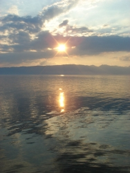 Ohrid sunset 1