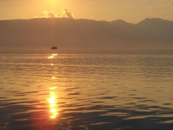 Ohrid sunset 3